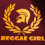 REGGAE GIRL T-SHIRT BURG & YELLOW